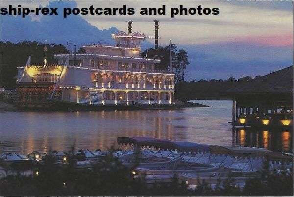 EMPRESS LILLY (Walt Disney World) postcard (b)